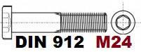 М24 02.01 8.8 DIN 912