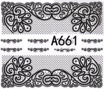 Слайдер-дизайн для ногтей A661
