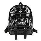 Рюкзак стеганый чёрный Mojoyce (AV190), фото 4