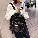 Рюкзак стеганый чёрный Mojoyce (AV190), фото 5