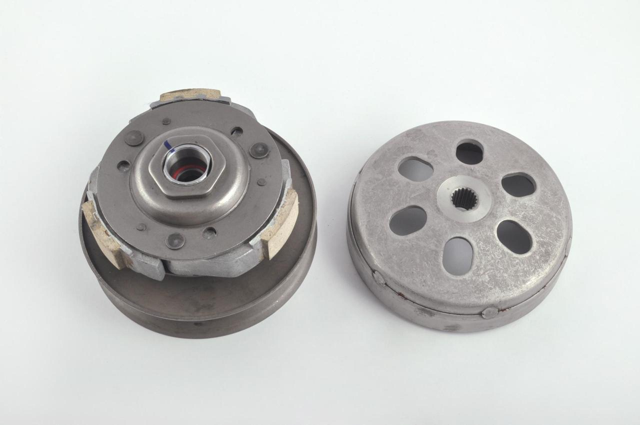 Вариатор задний на Китайский Скутер 4Т 4-х тактный (Gy6) 125/150 (с барабаном) F-64