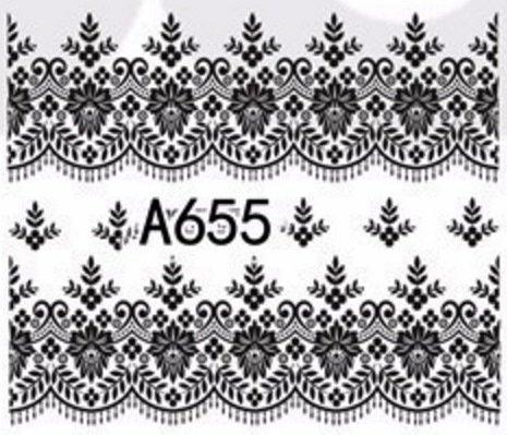 Слайдер-дизайн для нігтів A655