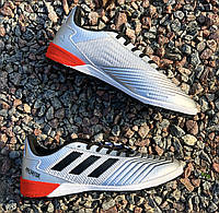 Сороконожки Adidas Predator Tango 13.3 TF in Silver/Black