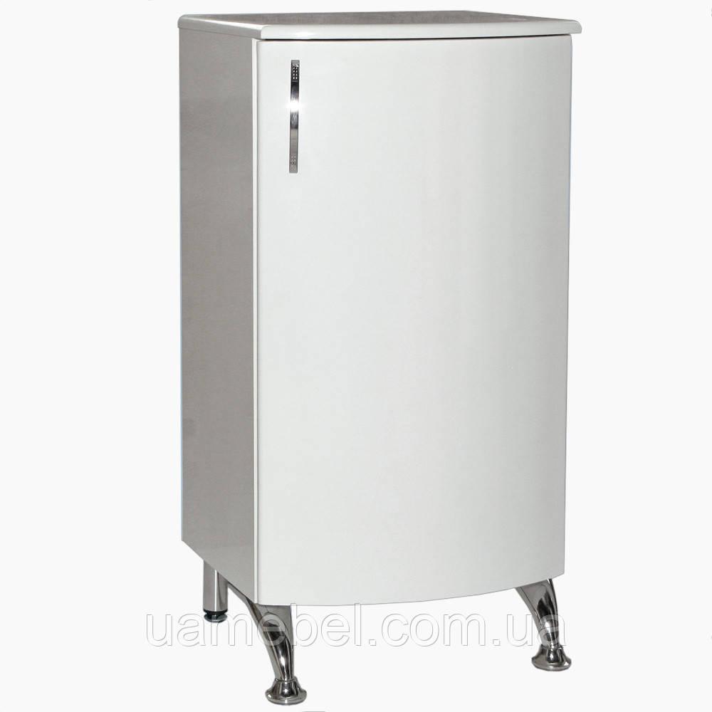 Комод белый в ванную К-300 радиус (30-50 см)