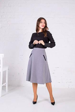 """Женская юбка с карманами """"Виталина"""" размеры 44-54, фото 2"""