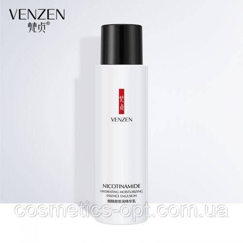 Эмульсия с ниацинамидом и гиалуроновой кислотой VENZEN Nicotinamide Hydrating Essence Emulsion, 120 мл