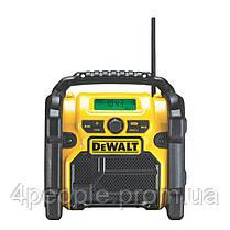 Зарядное устройство-радиоприемник DAB/FM, AUX и USB порт, DeWALT DCR020, фото 2