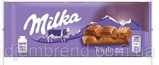 Шоколад Milka Triple (100 Г)