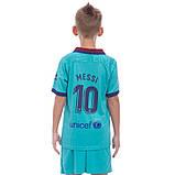 Форма футбольная детская BARCELONA MESSI 10 резервная 2020  CO-0976, фото 2