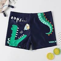 Детские плавки шорты Крокодил, фото 1