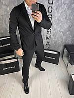 Классический костюм total black