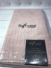 Коврики для ног Soft Cotton. Турция, бежевый