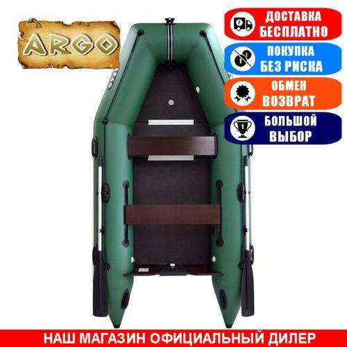 Лодка Argo AM-330K. Моторная килевая; 3,30м, 4мест. 1100/1100ПВХ, Жесткий настил; Надувная лодка ПВХ Арго