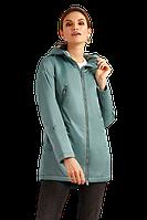 Женская лёгкая парка FiNN FLARE B19-12015-504 серо-зеленый