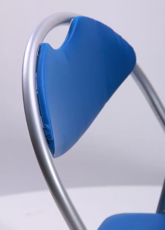 Стул Джокер алюм ПВХ синий (Фото 8)