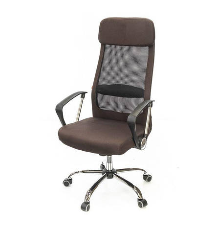 Кресло АКЛАС Гилмор (Ультра) FX  СН TILT Коричневый, фото 2