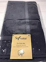 Коврики для ног Soft Cotton. Турция, чёрный