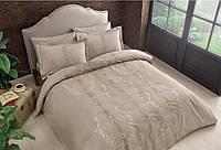 Двуспальное King Size постельное белье TAC Mauna Tas Сатин-Delux