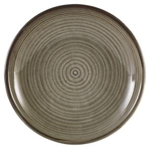 Тарелка глубокая 28 x h 5 см, Terra Porcelain Grey