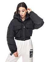 Куртка короткая женская «Арли» (Черная | 42-44)