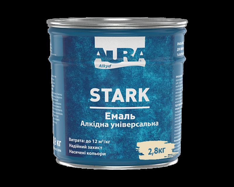 Эмаль алкидная AURA STARK универсальная слоновая кость 2,8кг