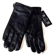 Шкіряні жіночі перчатки, шерсть сітка (розміри 6,5-8,5)