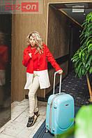 Пальто женское кашемировое с подкладкой атлас - Красный