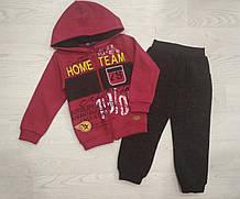Спортивний костюм для хлопчика на флісі р. 110