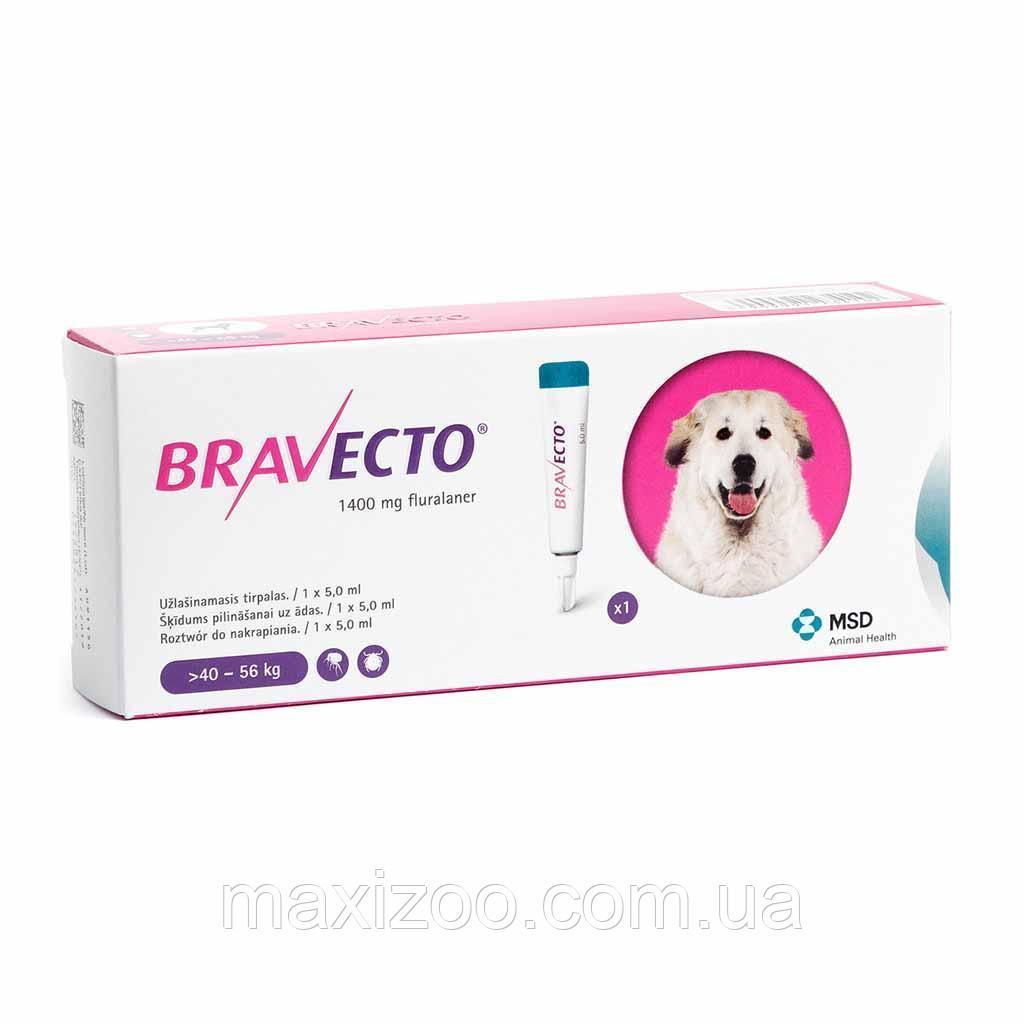 BRAVECTO (Бравекто) SPOT-ON (СПОТ-ОН) капли от блох и клещей для собак (40  -560 кг) ОРИГИНАЛ!