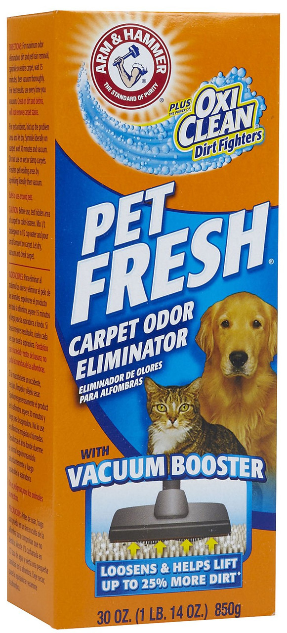 Дезодорант для ковров в форме порошка Arm and Hammer Pet Fresh 850 г