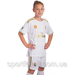 Форма футбольная детская REAL MADRID домашняя 2020  CO-0953