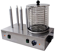 Апарат для хот-дога AIRHOT HDS-04 штирьовий