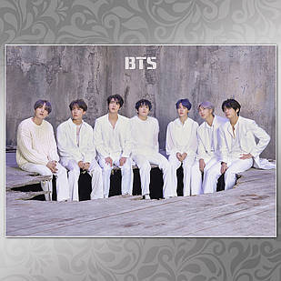 Плакат K-Pop BTS 512
