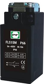 Концевой выключатель серии FLS 1NO+1NC IP66 в пластиковом корпусе Promfactor