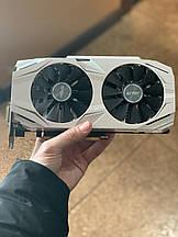 Видеокарта ASUS GeForce GTX1060 DUAL 6gb Відеокарта (б/у)