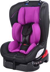 Автокресло детское Bambi M 2780 0-18 кг Gray Mix, розовый