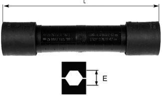 З'єднання єднувальний затискач що пресується MJPT 75 G28