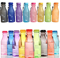 Бутылка для спорта матовая BPA Free 550 мл как My Bottle +спортивная
