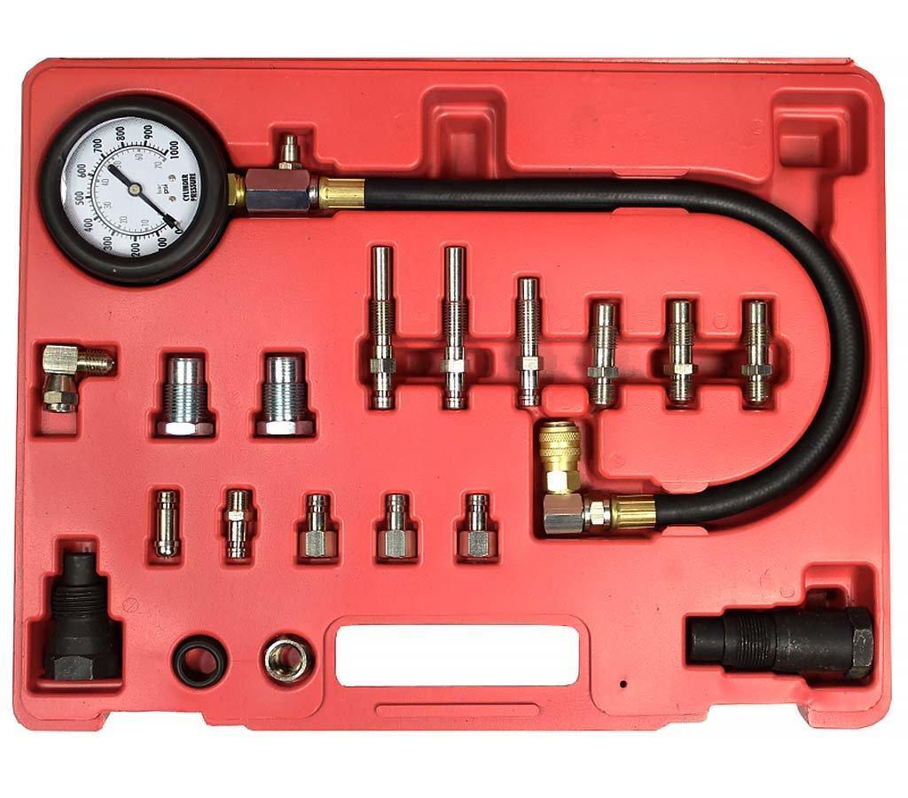 Компрессометр для дизельных двигателей 20 предметов Alloid K-1014