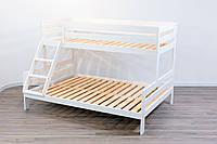 """Кровать детская двухъяруснаядля троих Микс-Лайн """"Трио"""", фото 1"""