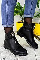 Жіночі черевики високі демі, фото 1