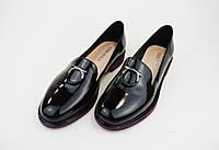 Туфли лаковые Geronea 49105 кожа