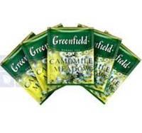 """Чай трав'яний пакетований Greenfield """"Camomille Meadow"""" Ромашковий луг 100шт HoReCa в поліетиленовому пакеті"""