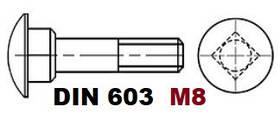 М8 03.02 8.8 DIN 603