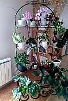 Арка наклонная-3, подставка для цветов на 18 чаш