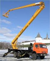 Аренда автовышки локтевой 17м, 22м, 25м, 28м, 30м, 50 метров