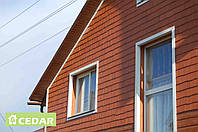 Планкинг фиброцементный Cedar Premium, канадский клён
