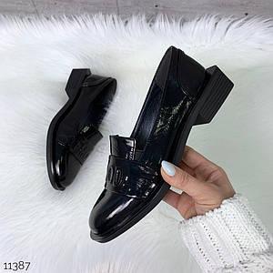 Туфли женские лакированная кожа