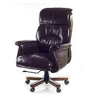 Крісло АКЛАС Максимус EX D-Tilt Темно-коричневе