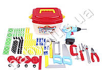 Набор инструментов 94 предмета в чемодане. Технок 4395